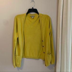 Banana Republic Sweater - Bright Yellow